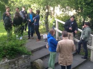 Kicking of Graines2015 - Interconnecting through German bratwurst