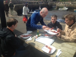 Experiencing Local Crail Lobster & Critical Central European looks