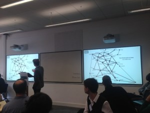 Visualising Networks and Routes of News Transfers