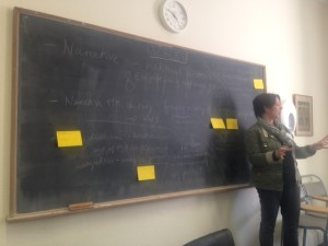 Ulrike Lindner workshop & reading - scales and practices of Empires