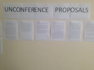 Unconference proposals