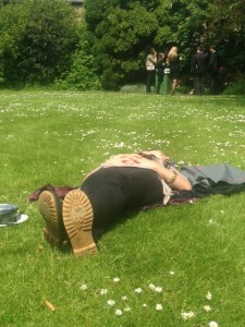 The power nap at St John's Garden