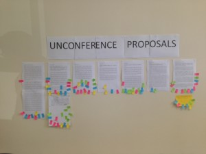 Here is the vote - Unconference ahead!